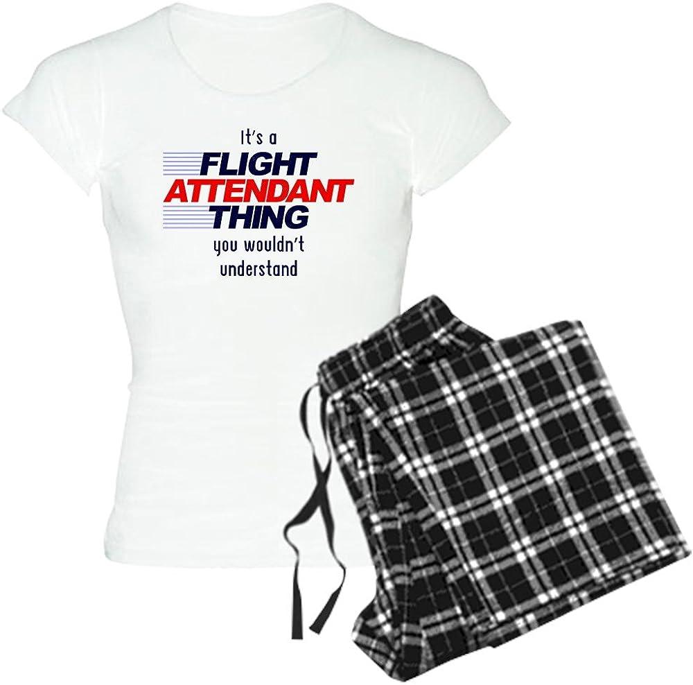 CafePress Its A Flight Attendant Thi Womens PJs