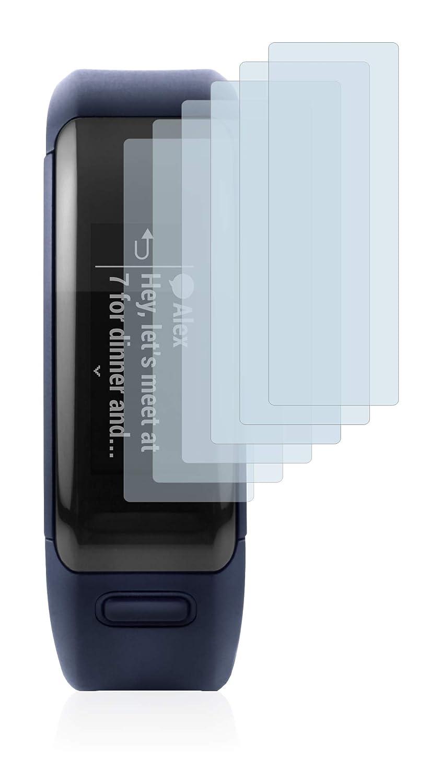Savvies Protector de Pantalla para Garmin Vivosmart HR [6 Unidades]: Amazon.es: Electrónica