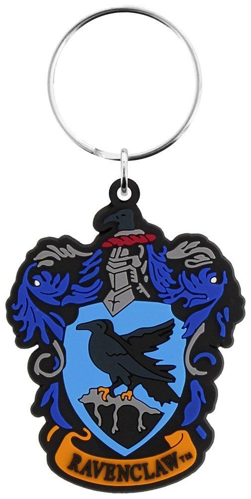 Officially Licensed Harry Potter Hogwarts House Crest Rubber Keyring KR0370