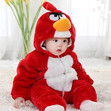Landou Winter Newborn Romper Animal Angry Birds Toddler Infant Baby Onesie Outfits Suit Halloween Costume Red  sc 1 st  Amazon UK & Landou Winter Newborn Romper Animal Angry Birds Toddler Infant Baby ...