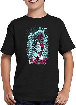 La Catrina Muerte - Camiseta infantil: Amazon.es: Ropa y ...