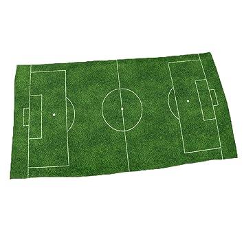 LanS Toalla de Playa de Secado rápido 3D Personalidad Creativa diseño de Moda Campo de fútbol Verde de Microfibra de fútbol impresión de Secado rápido ...