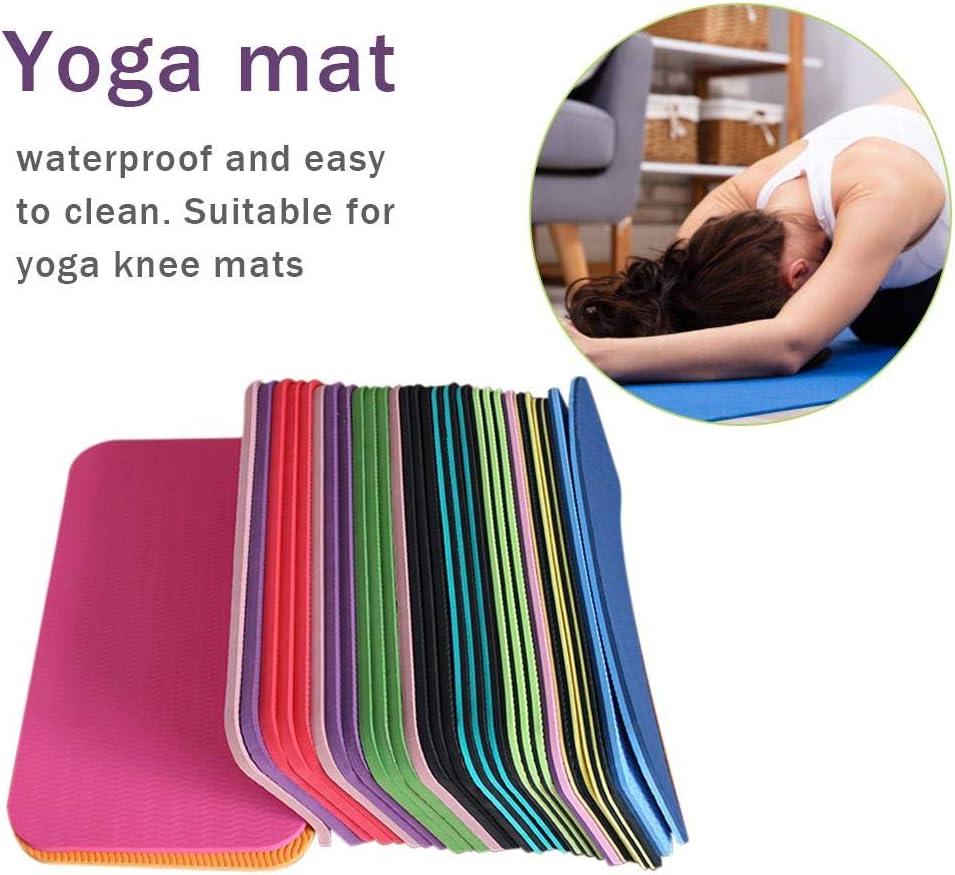 bearivt Esterilla De Yoga Rodillera De Yoga Antideslizante Resistente A La Humedad para Ejercicios De Pilates De Tablones