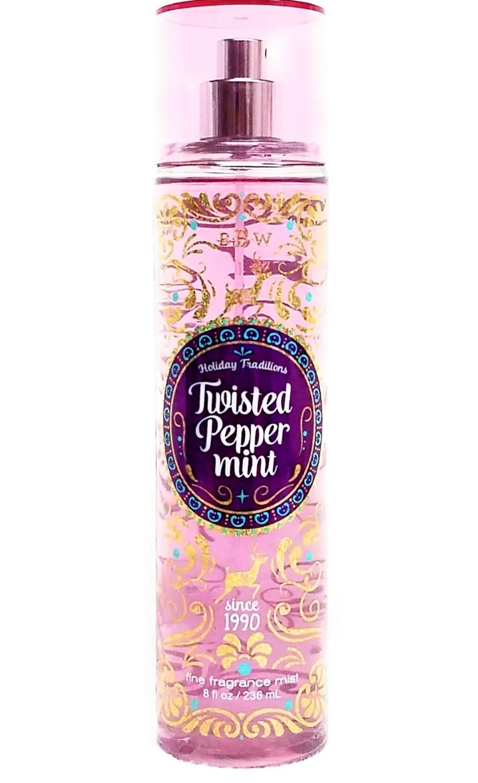 Bath & Body Works Twisted Peppermint Fine Fragrance Mist, 8 Fl Oz