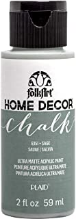 product image for FolkArt 36331 Home Decor Chalk Furniture & Craft Paint in Assorted Colors, 2 ounce, Sage