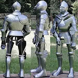 NauticalMart Rare Medieval Maxmilian Full Suit of Armor Warrior Full Body Costume