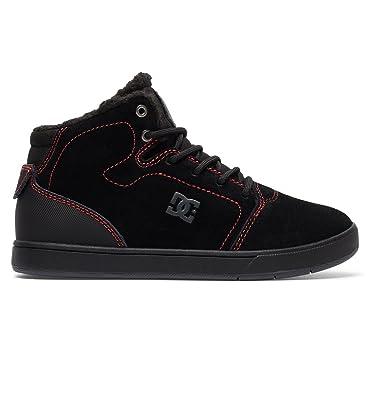 Dc Crisis Baskets Noir Sherpa Wnt Montantes Lined Pour Enfant Yb6vf7gIy