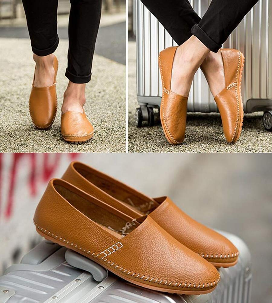 Hy Hy Hy Herrenschuhe, Spring Fall Light Soles Loafers & Slip-Ons, Soft Sole Comfort Driving schuhe Formal Business schuhe Office & Career,d,47 3c3ba9