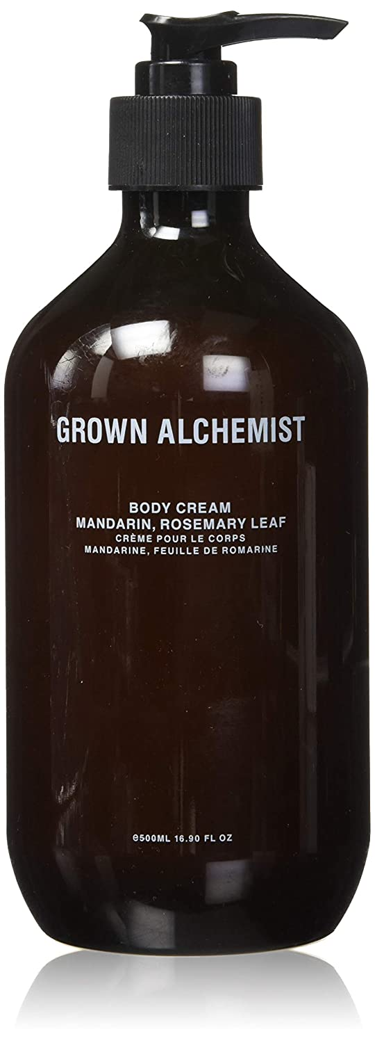 Grown Organic Alchemist Mandarin & Rosemary Leaf Body Cream 16.67 Oz. From Australia