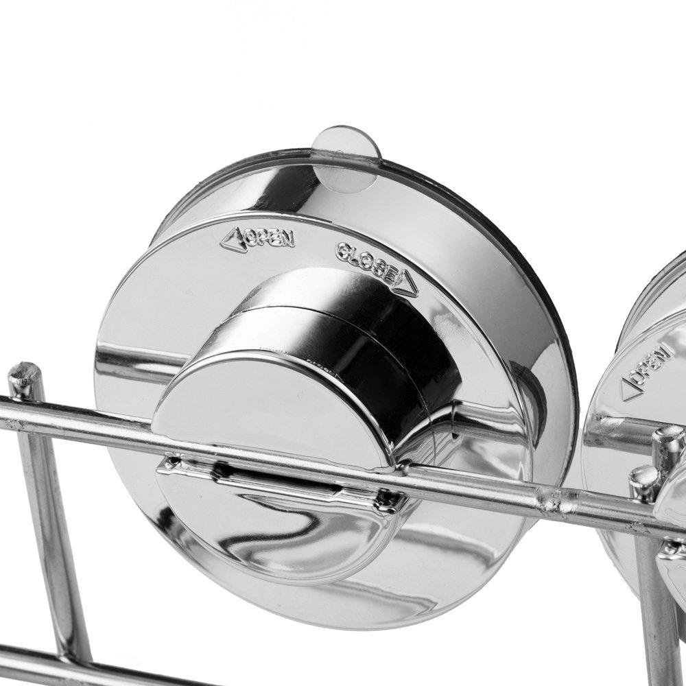 2//étag/ères dangle de douche salle de bain /à ventouse en acier inoxydable