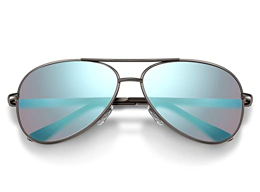 1b944bf981e3 Amazon.com  Pilestone Color Blind Glasses TP-006 Aviators for Red Green Color  Blindness  Clothing