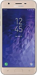 "Samsung Galaxy J3 Star 16GB J337T 5.0"" HD Display Android 8.0 4G LTE T-Mobile Unlocked GSM Smartphone (Renewed) (T-Mobile - Unlocked)"