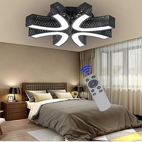 BFYLIN 54W lámpara de techo led Regulable de sala de estar luz de cocina lámpara de techo de lámpara de techo habitación ahorro de energía lámpara de ...