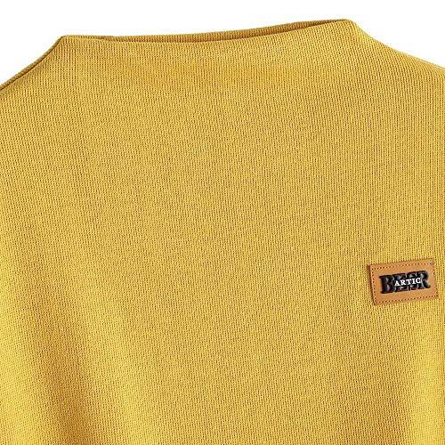 Serrage Applique Lettre Chic imprimes Longues Shirt Femme Section Shirt Manches Mince Capuche Femme Longue Manches avec Cordon de Unie Sweat Jaune Sweat Pull Chemise Couleur Tops TwUawqf