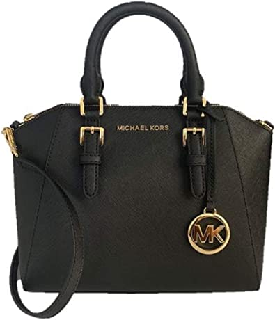 Michael Kors Ciara Medium Saffiano Leather Messenger Bag
