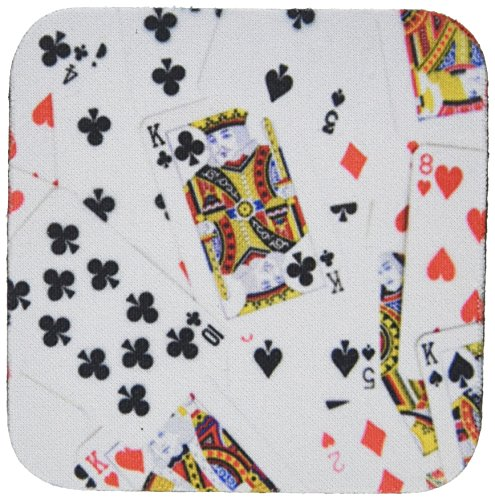3dRose cst 112896 2 Coasters Scattered Playing