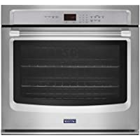 Maytag 27 inch Stainless Steel Single Electric Wall Oven