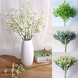3 Fork Artificial Baby's Breath Flowers Bouquet Decorative Flower For Wedding Home Decorations 2