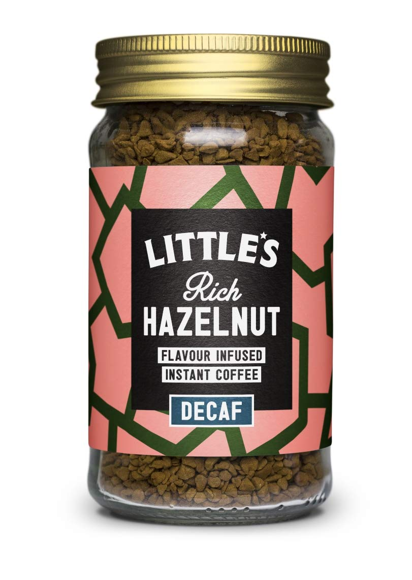 Little's Rich Hazelnut Decaf Instant Coffee 50g x 1