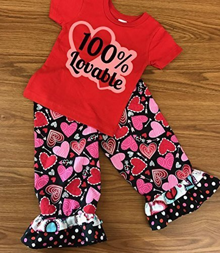 valentines day outfit girls ruffle pants valentines day outfit toddler girl valentines