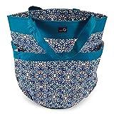 della Q Tess Yarn Storage & Knitting Caddy Bag (12'' W x 14'' H); 113 Decatur 340-1-113