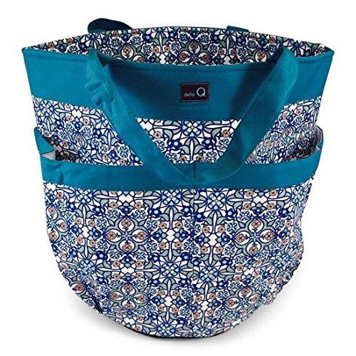 della Q Tess Yarn Storage & Knitting Caddy Bag (12'' W x 14'' H); 113 Decatur 340-1-113 by della Q