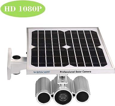 HD 1080P Wifi Solar IP Kamera Drahtlose Überwachungskamera Nachtsicht Outdoor DE