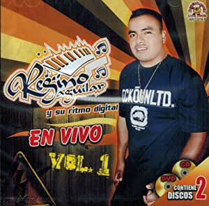 Regino Aguilar (En Vivo Vol. 1 Cd-dvd) Arc-319