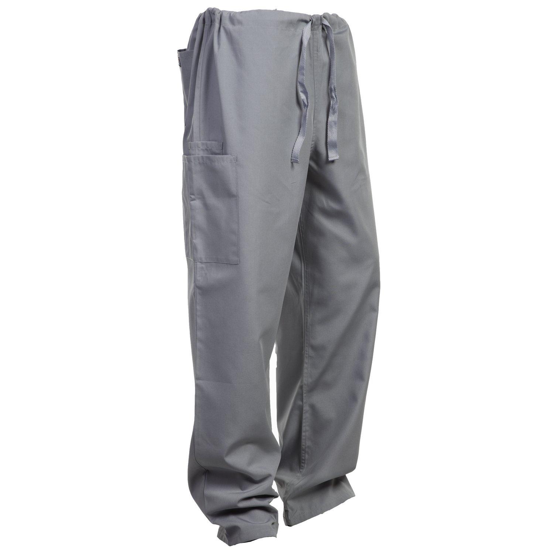 Cherokee Unisex trouser drawstring waist Grey 2XL
