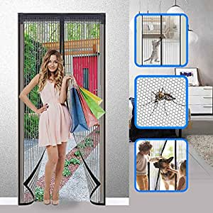 Amazon.com: BHARVEST - Cortina de malla magnética para ...