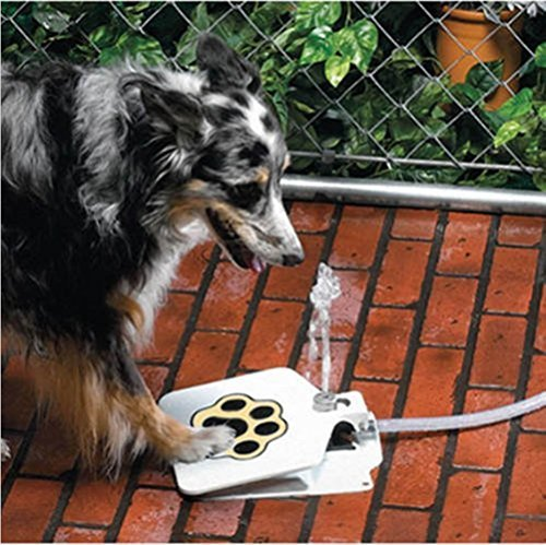 Meiying Durable Outdoor Dog/Pet Water Fountain Step-on Fresh Cold Drinking Water