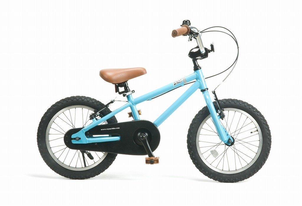 【湘南鵠沼海岸発信】16インチBMX 《RAINBOW Wynn16 16inch》 子供用自転車 16インチ B01NBCSABN ターコイズブルー ターコイズブルー