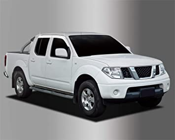 Amazon.es: Autoclover - Juego de deflectores de Viento cromados para Nissan Navara D40 2005-2015 (4 Piezas)