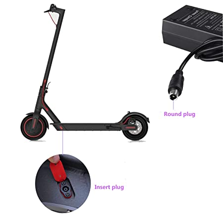 Amazon.com: Willing-Fly - Cargador para patinete (42 V, 2 A ...