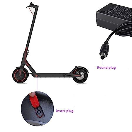 Amazon.com: Willing-Fly - Cargador para patinete (42 V, 2 A ...