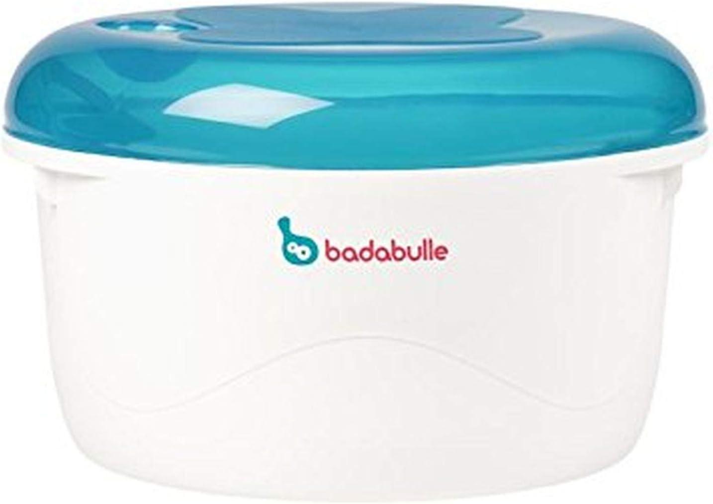 Badabulle B003204 - Esterilizador micro-ondas, color azul y gris ...