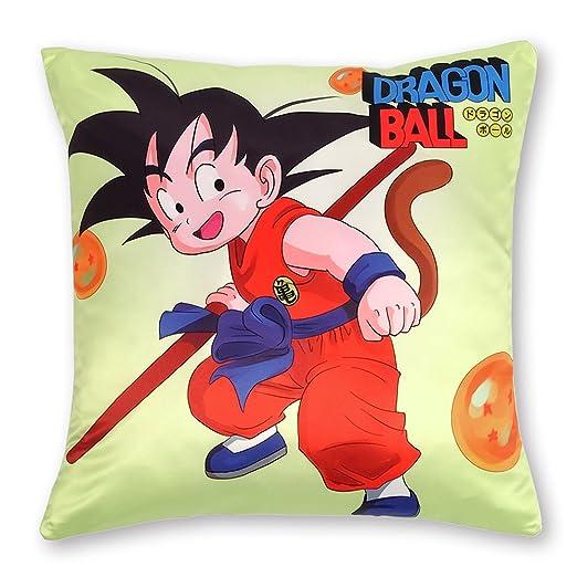 CoolChange Funda de Almohada 50x50 con Tema de Dragon Ball: Son Goku