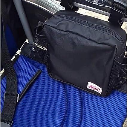 Funda para silla de ruedas/Bolsas para caminantes/Reposabrazos Lateral Organizador Malla de almacenamiento