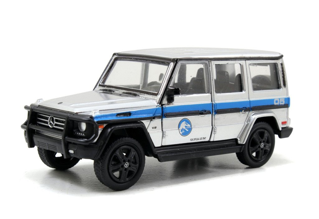 Jurassic World 2015 Movie 1 43 Scale diecast Mercedes Benz G Class 4X4 by Jada
