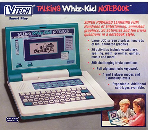 VTECH TALKING WHIZ* KID NOTEBOOK