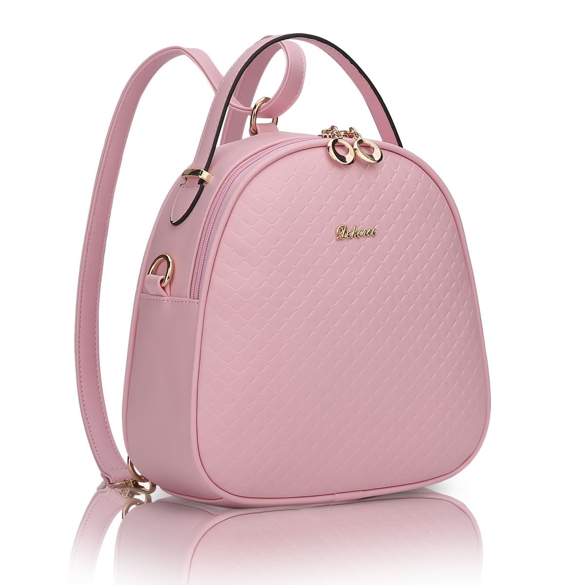 MSZYZ students in spring and summer all-match simple small backpack Shoulder Messenger Bag,Pink,262611CM