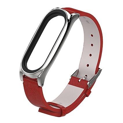 Modaworld _Correa de reloj Pulsera Xiaomi Mi Band 3 Pulsera de Repuesto Banda de reemplazo Correas