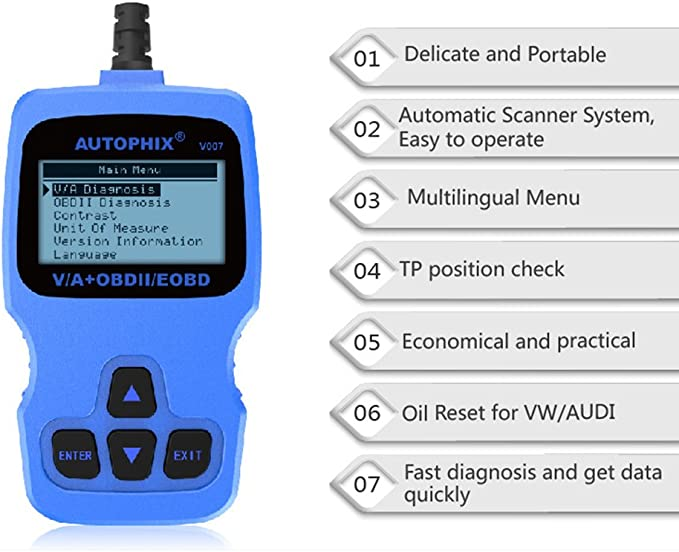 Autophix Tw V007 V007 Auto