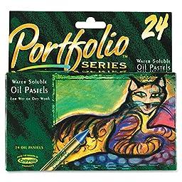 Crayola24ctOilPastelsPortfolioSeries Model: 52-3624