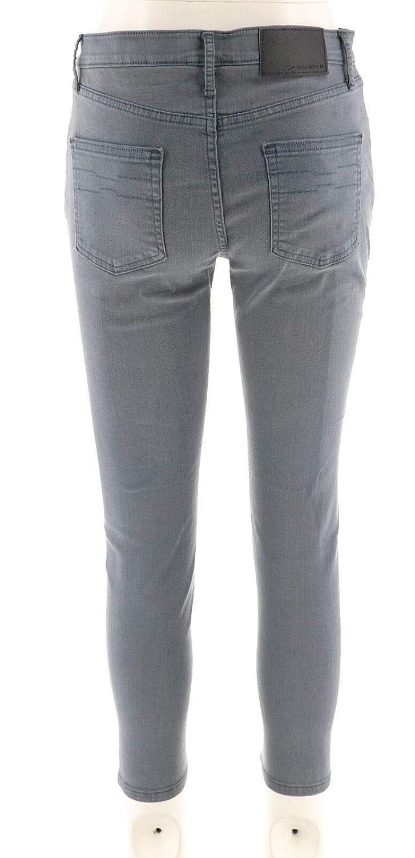 Halston Premier Denim Petite Ankle Skinny Jeans A302021