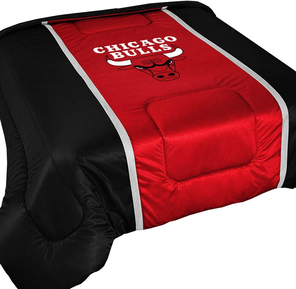 Sports Coverage NBA Unisex-Adult Sideline Comforter Queen
