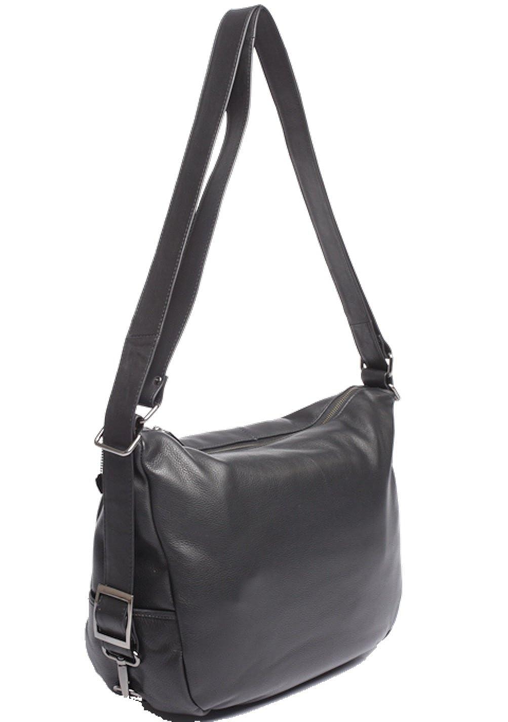 ccc730e77f5b1 Josephine Osthoff Handtaschen-Manufaktur JOSYBAG LEDER Rucksack-Shopper  VANCOUVER - espresso - Tasche Sack Beutel für jeden Tag ideal auf Reisen  dunkel ...