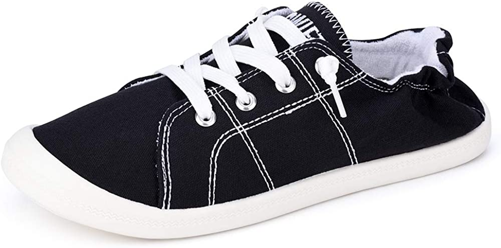 Details about  /Women/'s Casual Sneaker Slip on Toning Lightweight Solid Comfort Walking Shoes