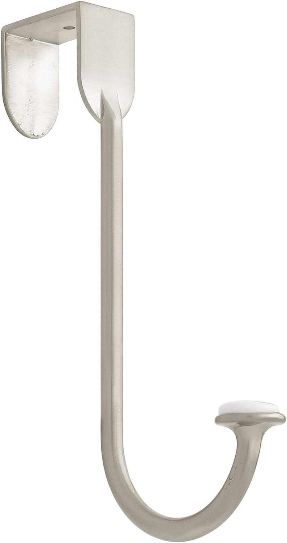 Satin Nickel Liberty BBF430Z-SN-U Single Over-The-Door Hook