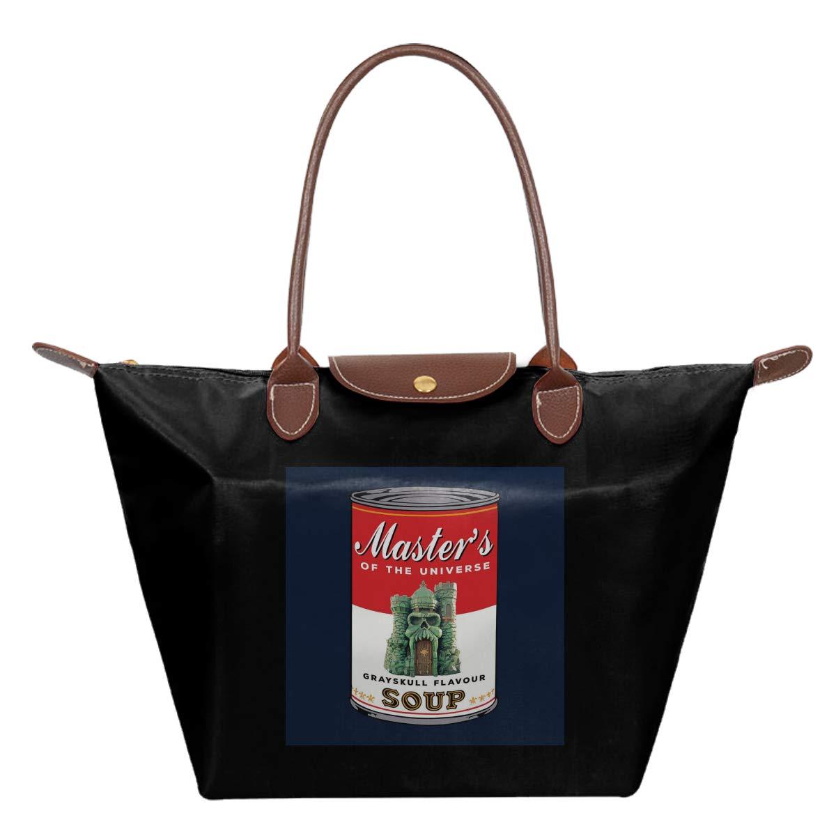 He Man Masters Of Universe Grayskull Flavoured Soup Waterproof Leather Folded Messenger Nylon Bag Travel Tote Hopping Folding School Handbags